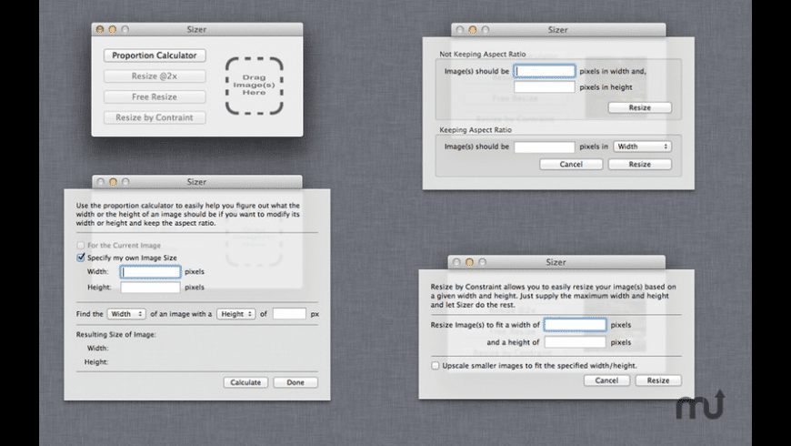 Sizer for Mac - review, screenshots