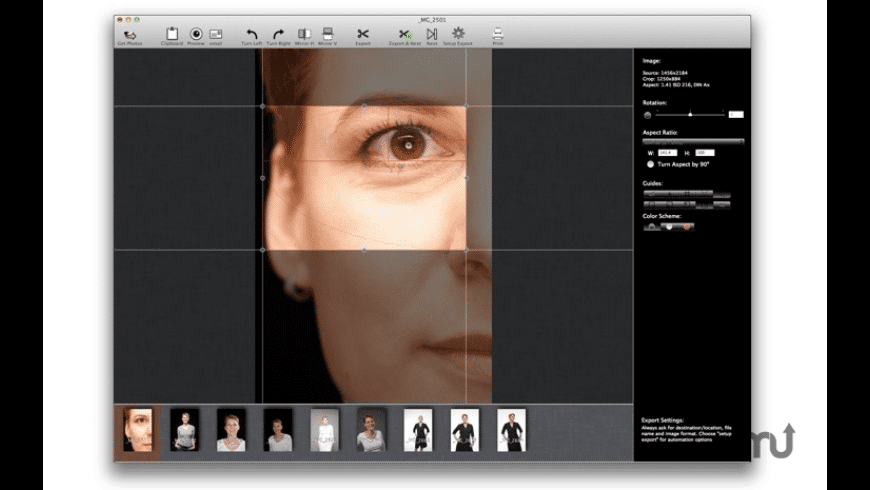 cf/x photo crop PRO for Mac - review, screenshots