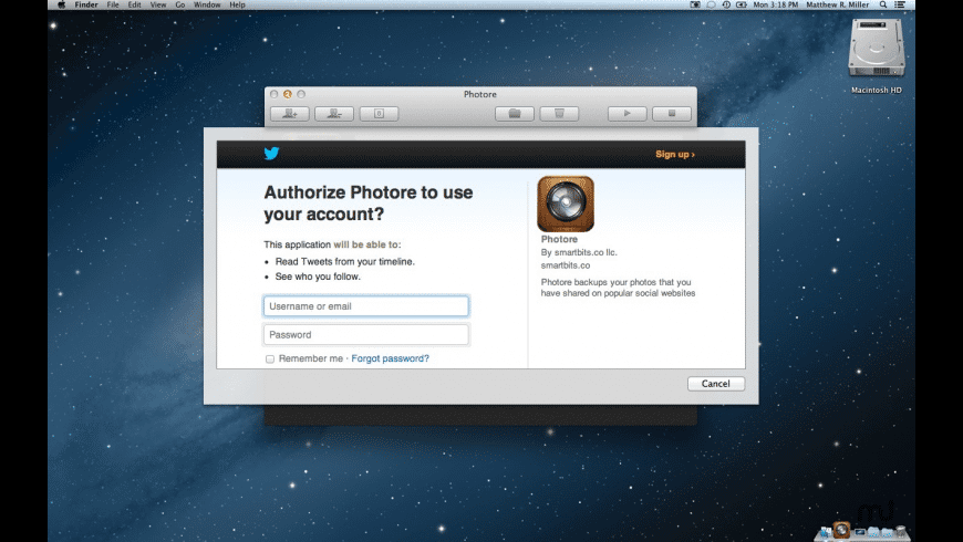 Photore for Mac - review, screenshots