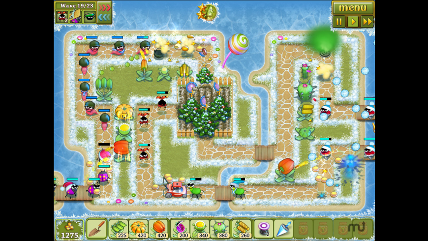 Garden Rescue Christmas Edition for Mac - review, screenshots