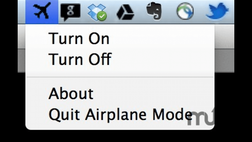 Airplane Mode for Mac - review, screenshots