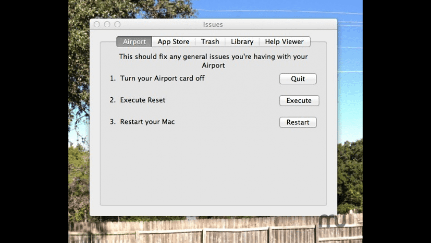 Issues for Mac - review, screenshots
