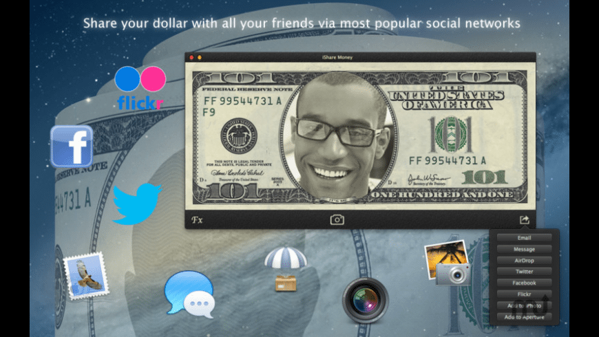 iShare Money for Mac - review, screenshots