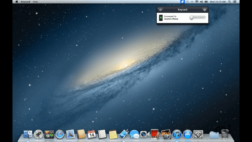 Keycard for Mac - review, screenshots