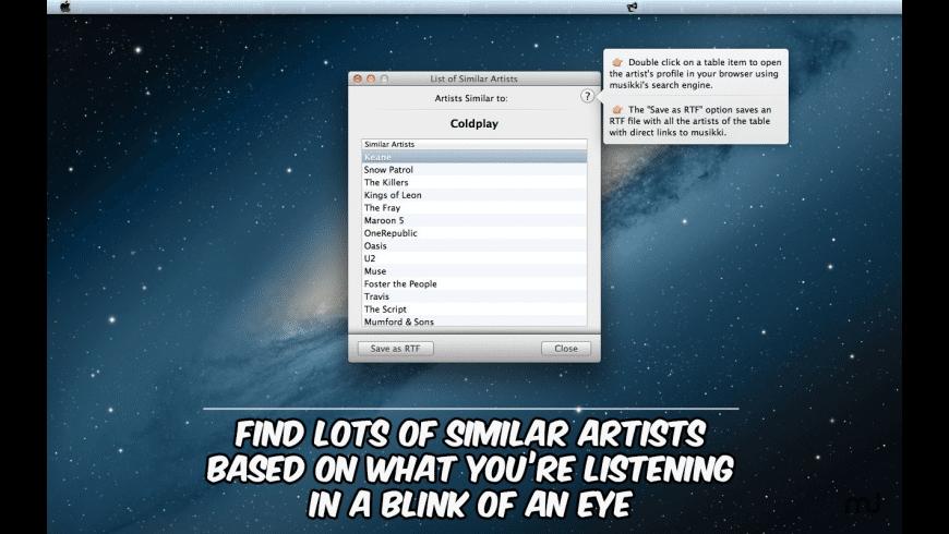 Music Harbinger for Mac - review, screenshots
