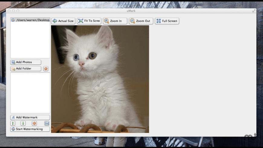 uMark for Mac - review, screenshots