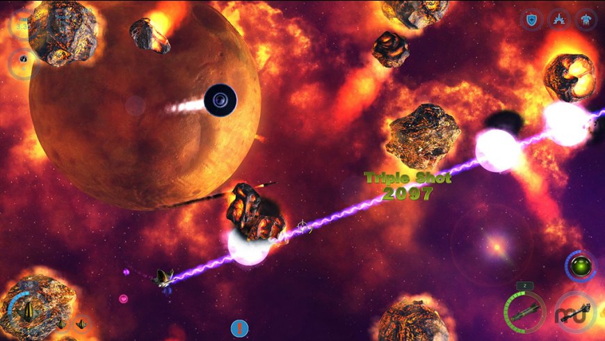 The Galactic Asteroids Patrol for Mac - review, screenshots