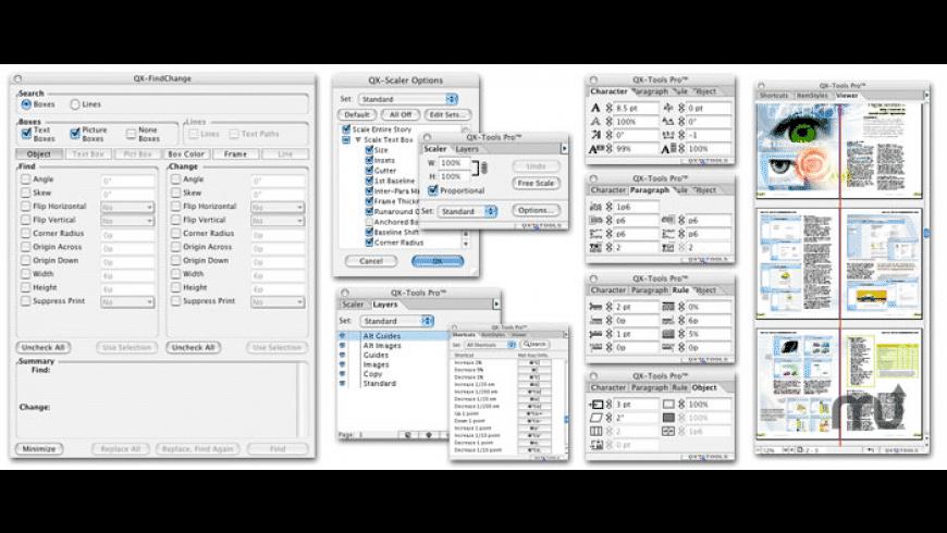 QX-Tools Pro for Mac - review, screenshots