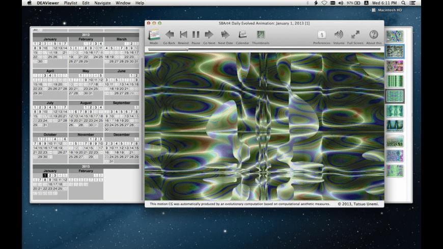 DEAViewer for Mac - review, screenshots