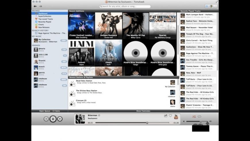 Tomahawk for Mac - review, screenshots