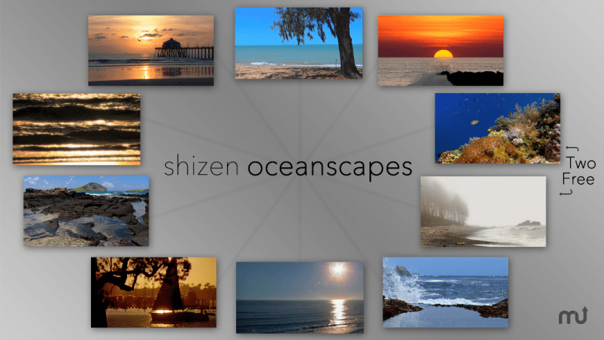 Shizen: Oceanscapes for Mac - review, screenshots
