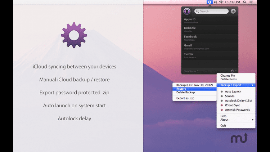 PassLocker for Mac - review, screenshots