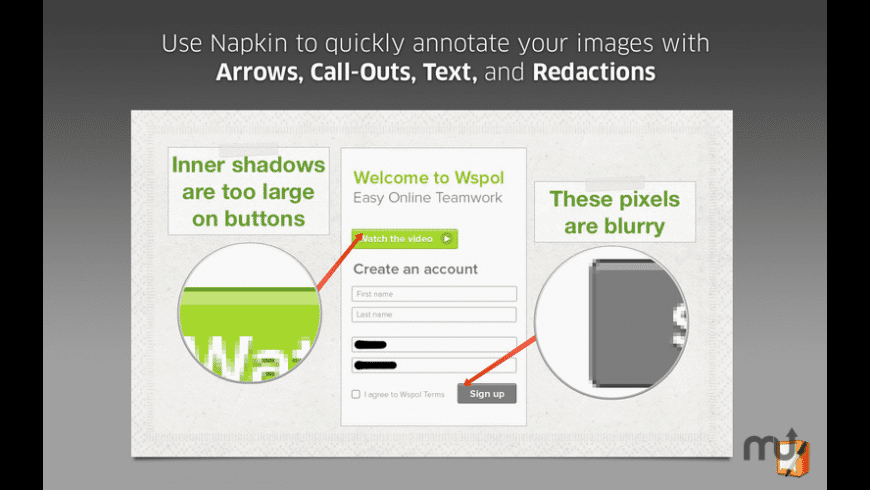 Napkin - Image Annotation and Markup for Mac - review, screenshots
