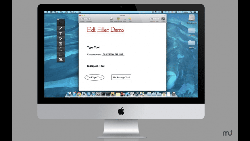 PDF Form Filler + for Mac - review, screenshots