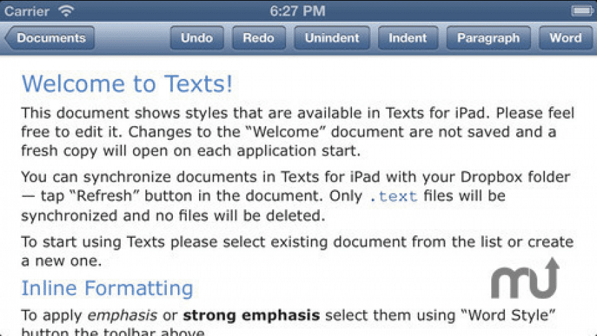 Texts for Mac - review, screenshots