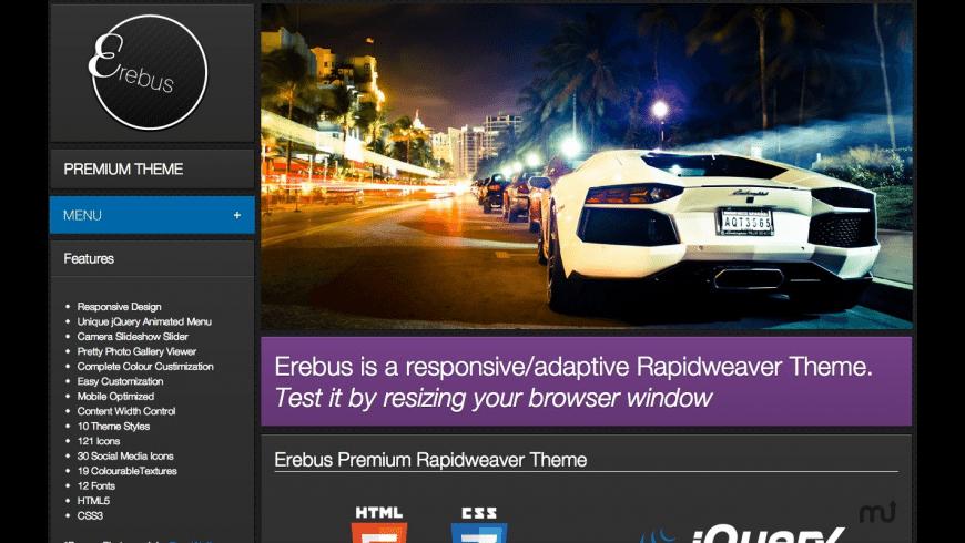 Erebus for Mac - review, screenshots