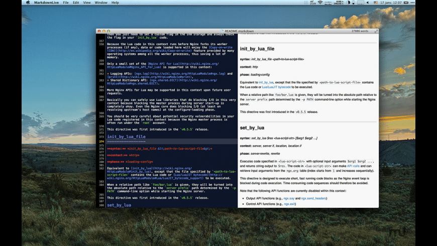 Markdown Life for Mac - review, screenshots