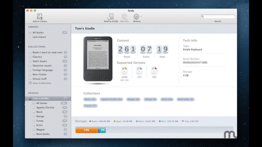 Scida for Mac - review, screenshots