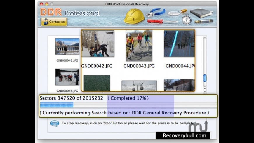 DDR Recovery for Mac - review, screenshots