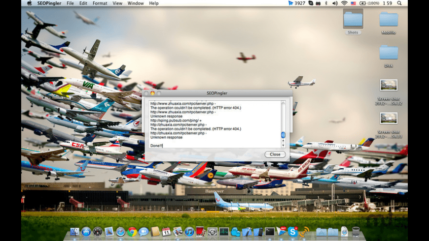 SEOPingler for Mac - review, screenshots