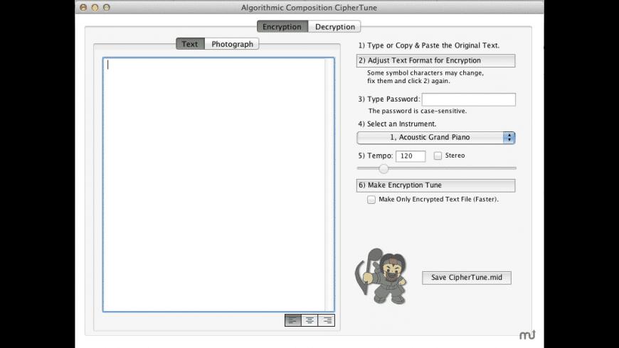 CipherTune for Mac - review, screenshots