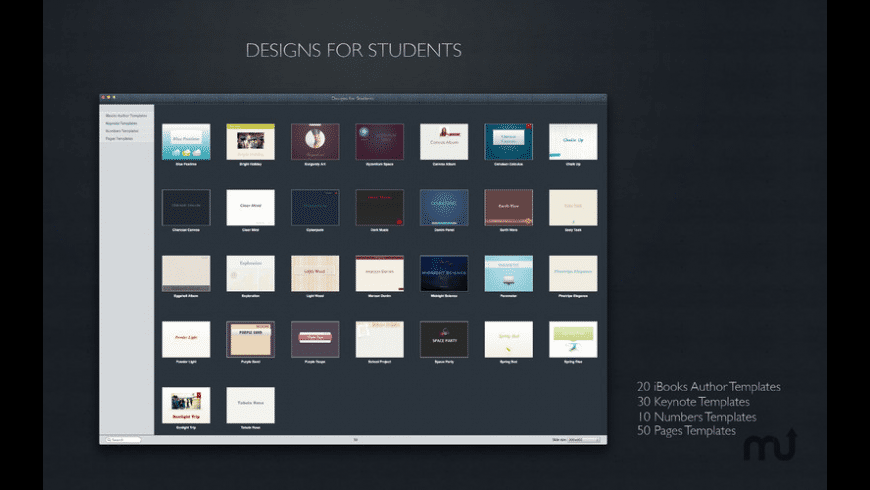 Designs for Students for Mac - review, screenshots