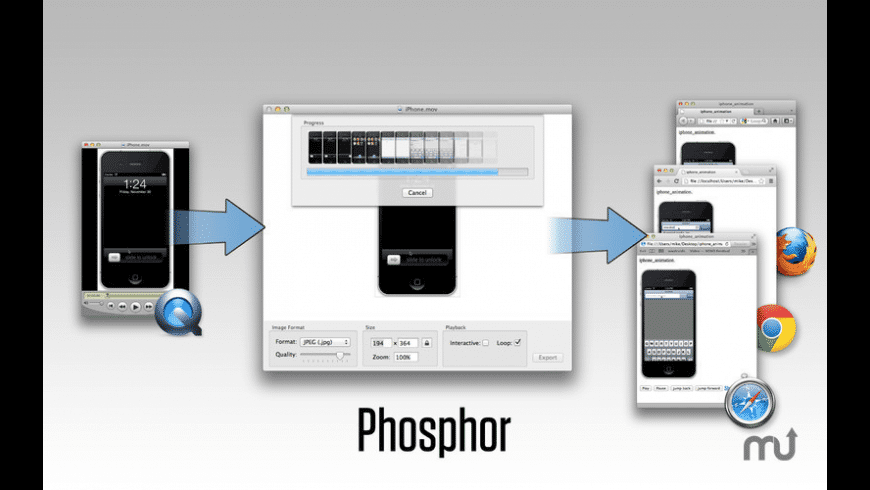 Phosphor for Mac - review, screenshots