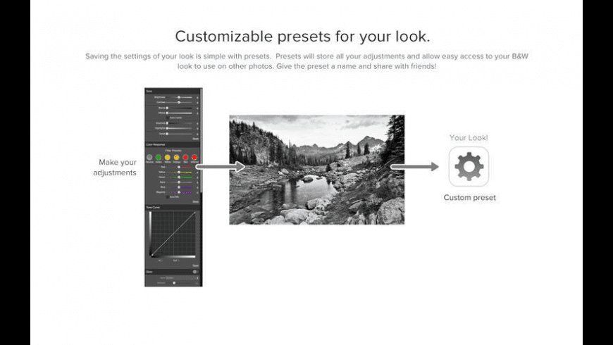 Perfect B&W for Mac - review, screenshots