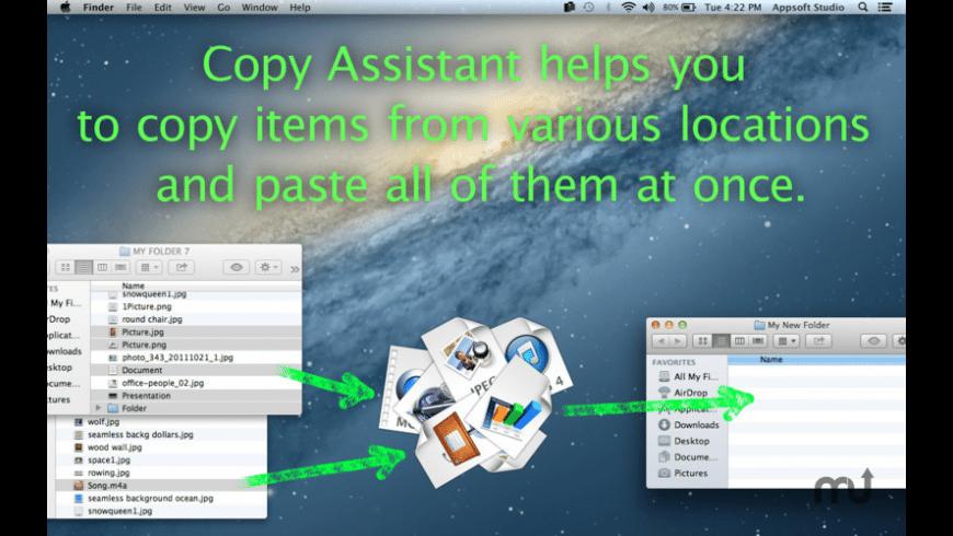Copy Assistant for Mac - review, screenshots