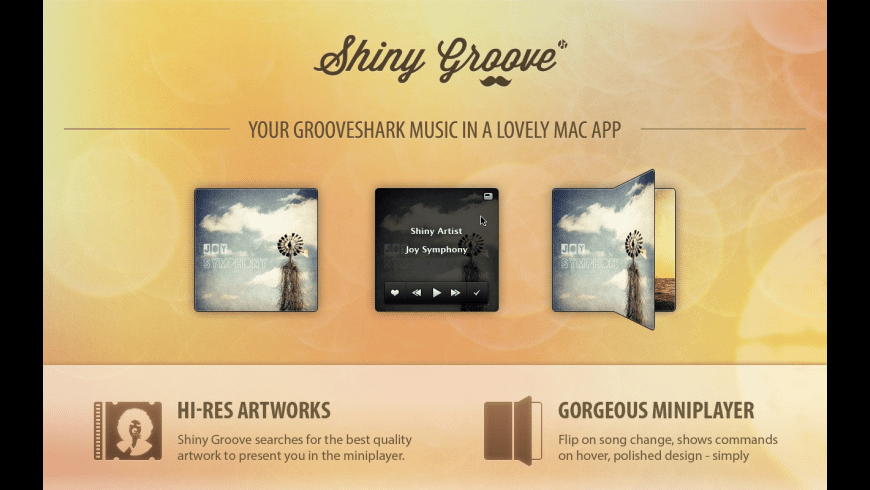 Shiny Groove for Mac - review, screenshots