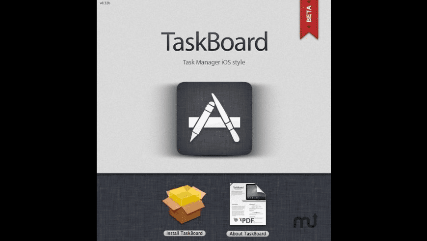 TaskBoard for Mac - review, screenshots