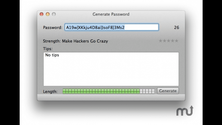 PasswordHelper for Mac - review, screenshots