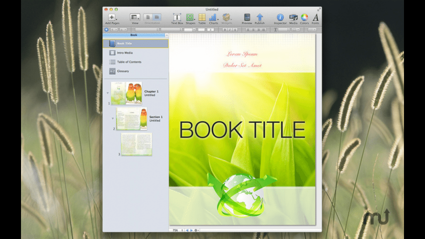 Designs for iBooks Author for Mac - review, screenshots