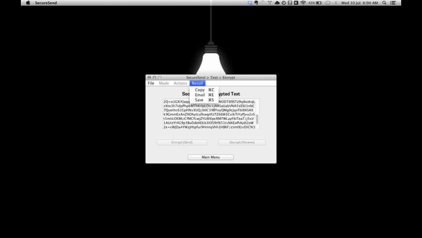 SecureSend for Mac - review, screenshots