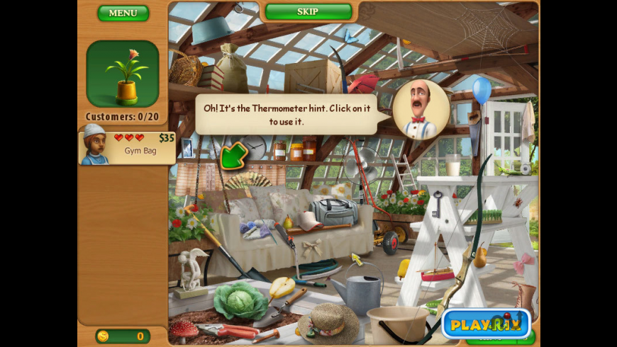Gardenscapes: Mansion Makeover for Mac - review, screenshots