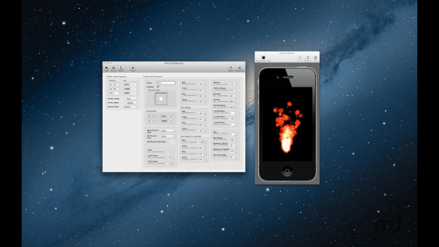 Particle Playground for Mac - review, screenshots