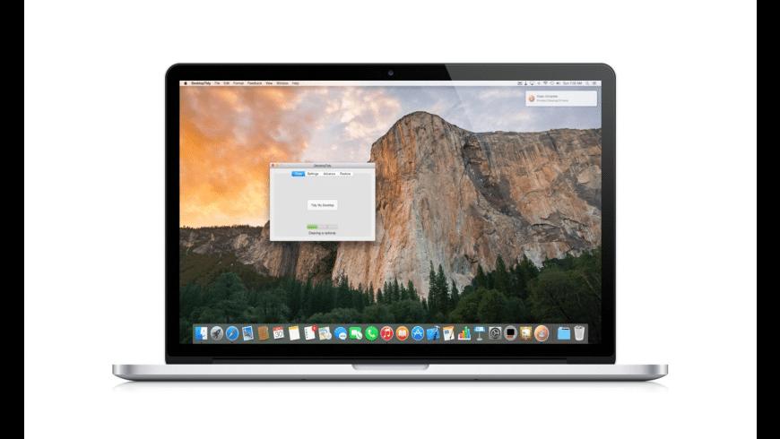 DesktopTidy for Mac - review, screenshots