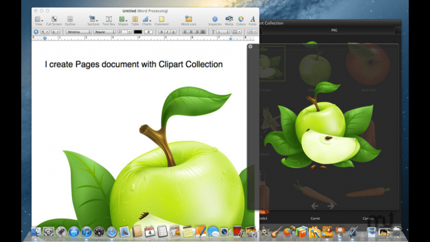 Clipart Collection for Mac - review, screenshots