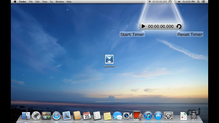 MenuTimer for Mac - review, screenshots