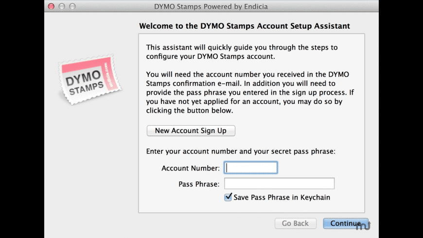 DYMO Stamps for Mac - review, screenshots