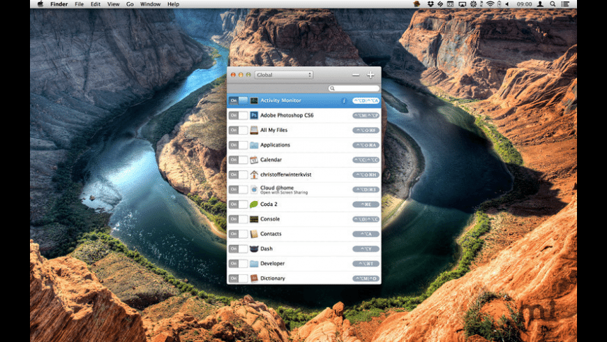Keyboard Cowboy for Mac - review, screenshots