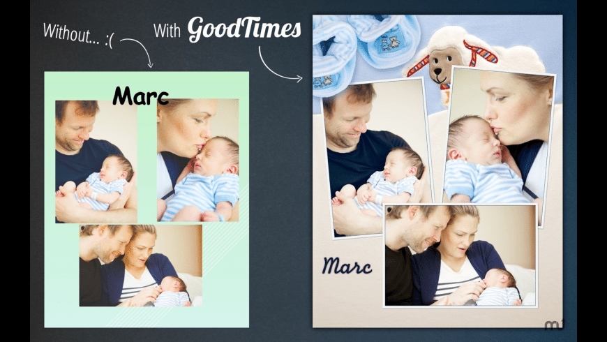 GoodTimes Lite for Mac - review, screenshots