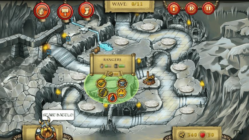 300 Dwarves for Mac - review, screenshots