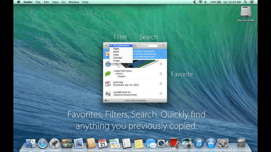 Collective for Mac - review, screenshots