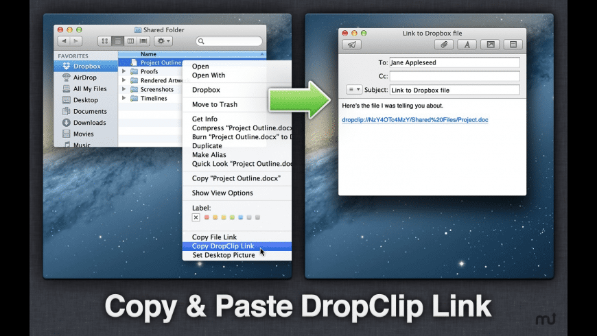 DropClip for Mac - review, screenshots