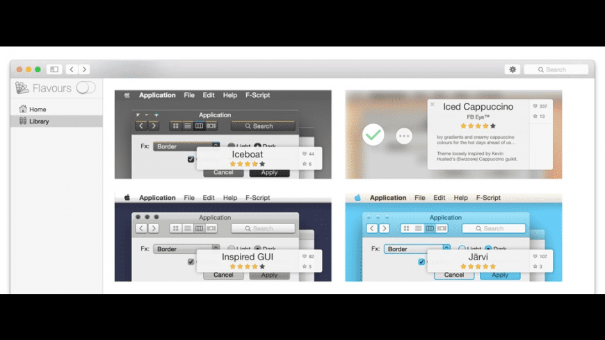 Flavours2 for Mac - review, screenshots