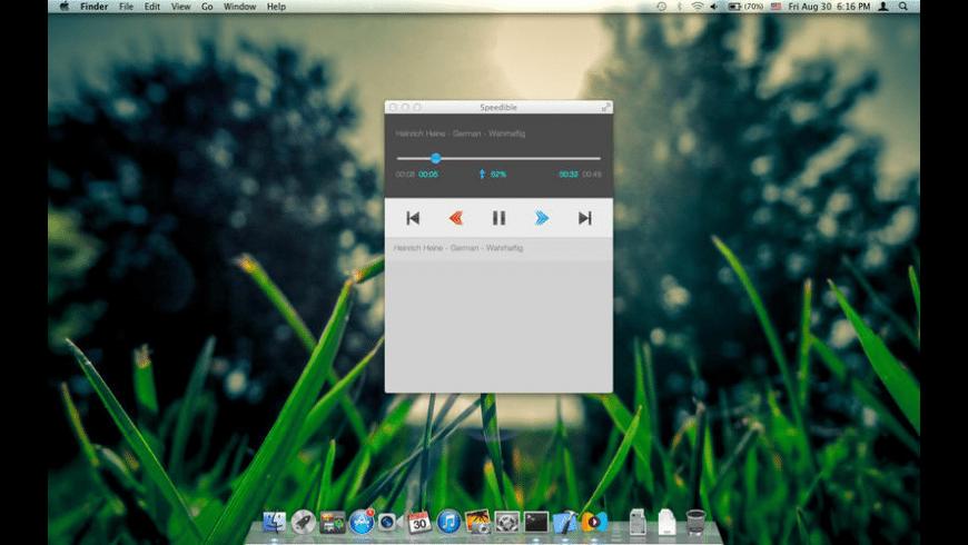 Speedible for Mac - review, screenshots