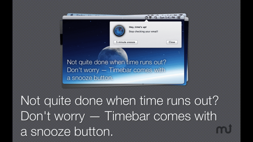 Timebar for Mac - review, screenshots