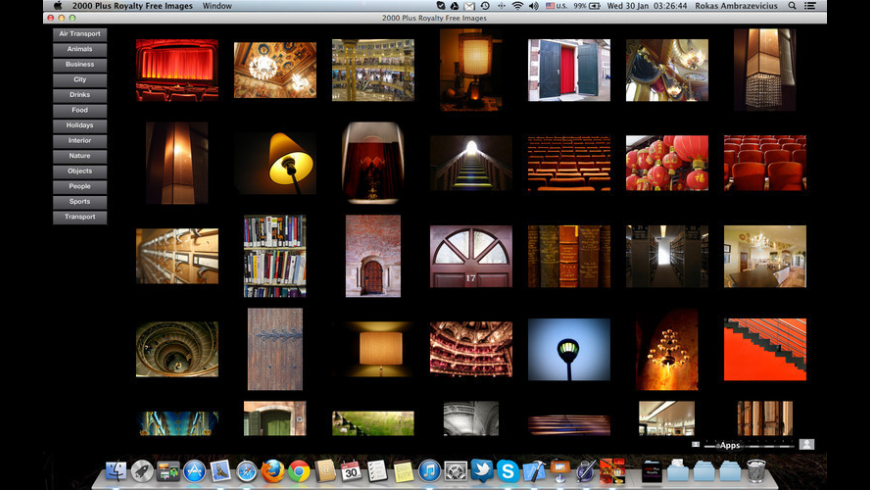 2000 Plus Royalty Free Images for Mac - review, screenshots