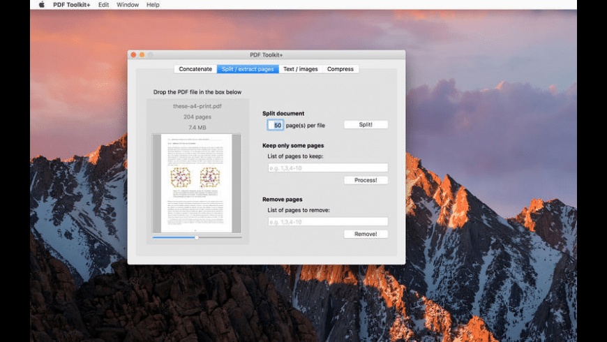 PDF Toolkit + for Mac - review, screenshots